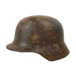 Casque Allemand Mod 1935 - LUFTWAFFE - Relique Normandie 1944