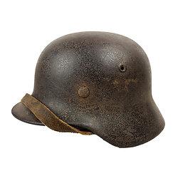 Casque Allemand Mod 1940 - LUFTWAFFE - Relique Normandie 1944