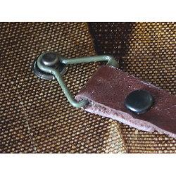 SET 2 TENONS de jugulaire cuir amovible de LINER US