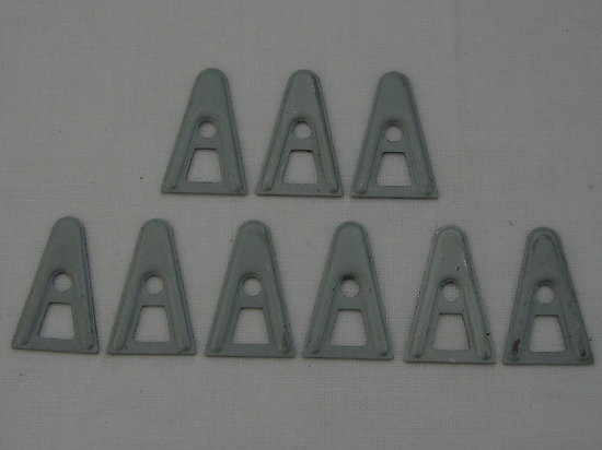 "SET de 9 ""A"" WASHERS en ACIER - LINER US M-1"