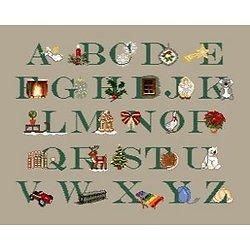 Abécédaire de Noël diagramme couleur .pdf