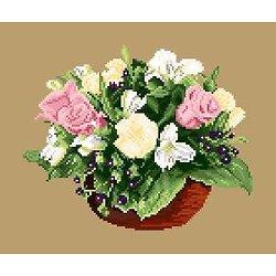 Bouquet de printemps diagramme couleur