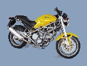 Ducati 750 Monster diagramme noir et blanc .pdf