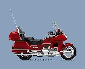 Honda Goldwing diagramme couleur