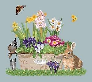 Jardinière de printemps diagramme couleur