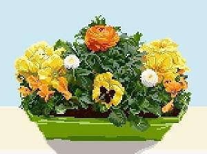 Jardinière de printemps II diagramme couleur