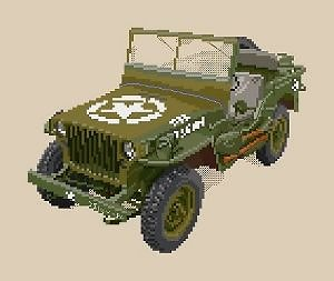 Jeep Willys diagramme couleur