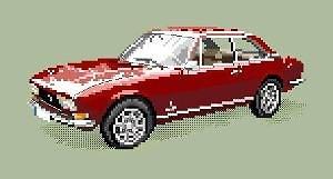Peugeot 504 diagramme couleur