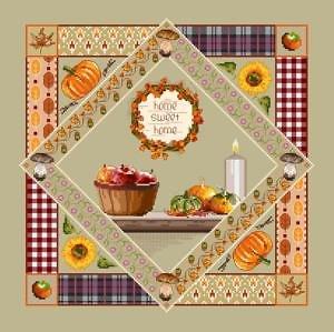 Sampler d'automne diagramme couleur
