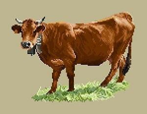 Vache tarine diagramme couleur