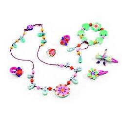 Bijoux Paradis des Fleurs Djeco 4-12 ans