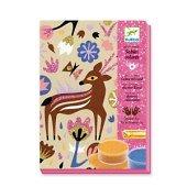 Sables colorés Merveilles des Bois Djeco 6-11 ans