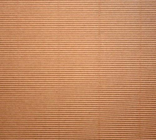 Papier ondulé Micro cannelé 30x30cm
