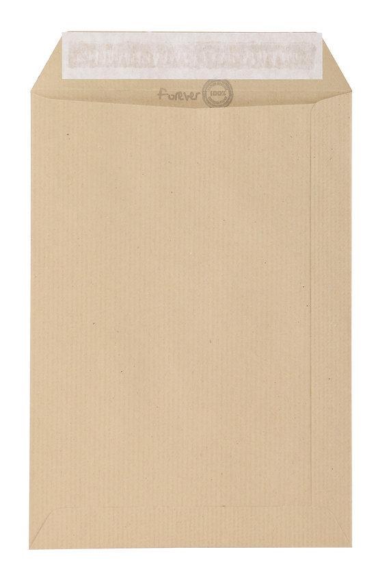 Enveloppe bureau kraft C4  en papier recyclé