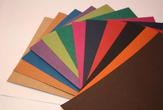 """Papier  Scrapbooking  30x30cm en 455 gr """"Natural"""""""