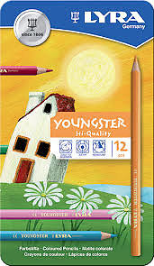 Boite 12 crayons Youngster Lyra