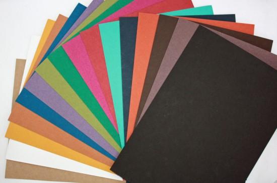 Feuilles Multicolores 325gr A4 et A3