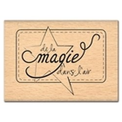 """Tampon bois """" de la magie dans l'air"""""""