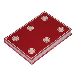 Carnet Domino cousu format 15.5x11cm