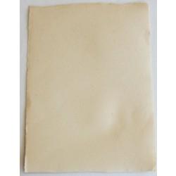 Papier de création artisanal uni