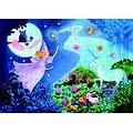 Puzzle Djeco La fée et la licorne 36 pièces +4
