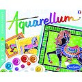 Aquarellum Chevaux en parade- + 8 ans