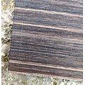 """Carnet en lin imitation """"Bois"""" ligné 14.8x21cm"""