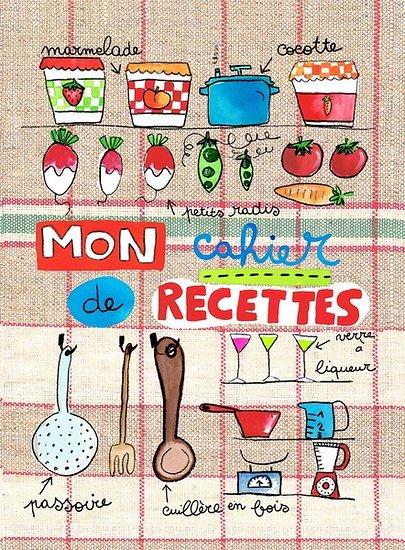 Carnet De Recettes Poivriere Et Saliere Anges