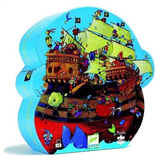 Puzzle Djeco Bateau de Barberousse 54 pièces +5