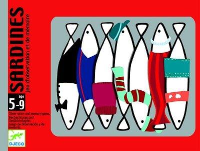 Sardines Djeco 5-99 ans