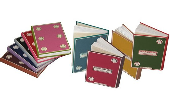 Carnet domino cousu format 15.5x11cm