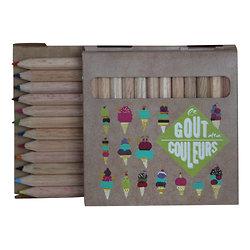 Boite de crayons de 12 couleurs Le Gout des Couleurs