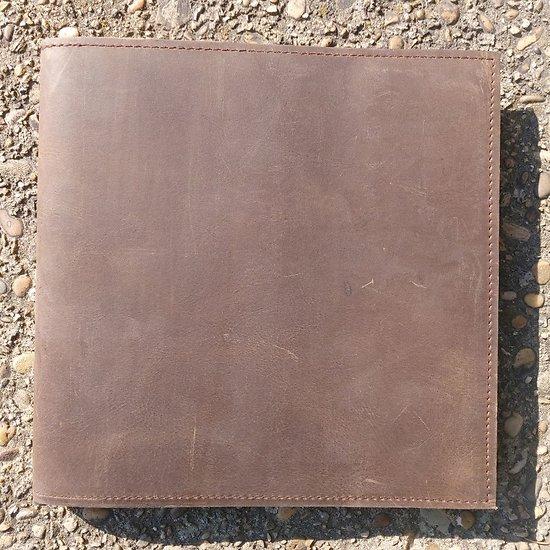 Carnet en cuir Pundit 21x21cm