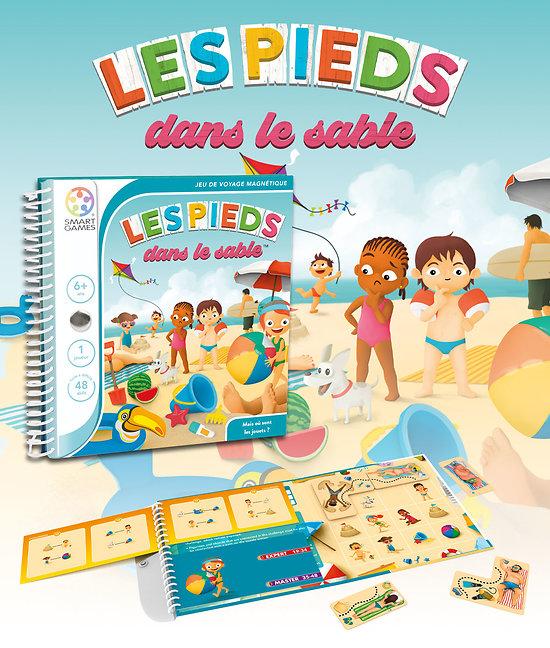 Les pieds dans le sable  - Smart Games - + 6 ans