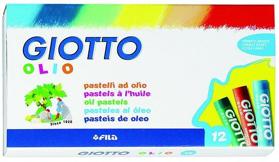Pastels à l'huile Giotto