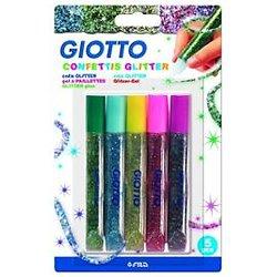 Gel à paillettes Giotto confetti glitter