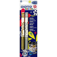 Stylo argent et or