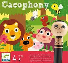 Cacophony Djeco 4-8 ans