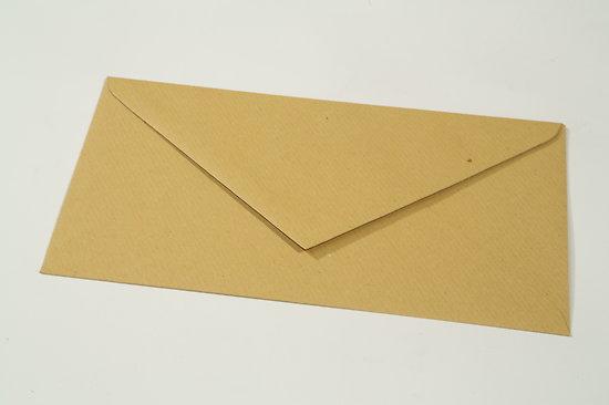 "Enveloppe DL 11x22cm ""Kraft"""