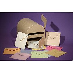 """Enveloppe recyclée carrée 15x15cm """"Couleurs de Provence"""""""