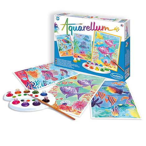 Aquarellum Fonds Coralliens - + 8 ans