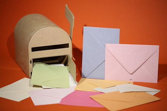 """Enveloppe recyclée C5 """"Couleurs de Provence"""" 100gr"""