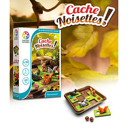 Cache Noisettes - Smart Games - + 6 ans