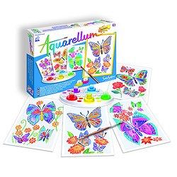 Aquarellum Junior Papillons et Fleurs - + 7 Ans