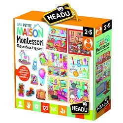 Ma petite maison Montessori - 2 /5 ans - Headu