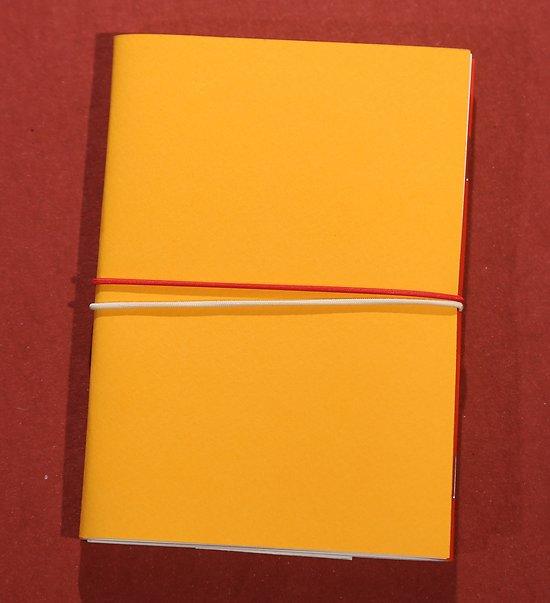 Carnet double agrafé format poche A6