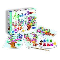 Aquarellum Cerfs enchantés- + 8 ans