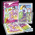 Tableaux à pailleter Japonaises en kimono- + 5 ans (copy)