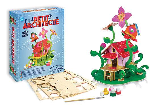Petit architecte Maison dans les fleurs - + 7 ans