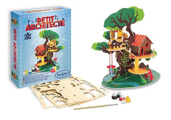 Petit architecte Maison dans les arbres - + 7 ans
